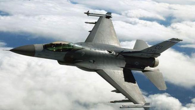 Un F-16, como los suministrados por Lockheed-Martin a las fuerzas aéreas turcas.