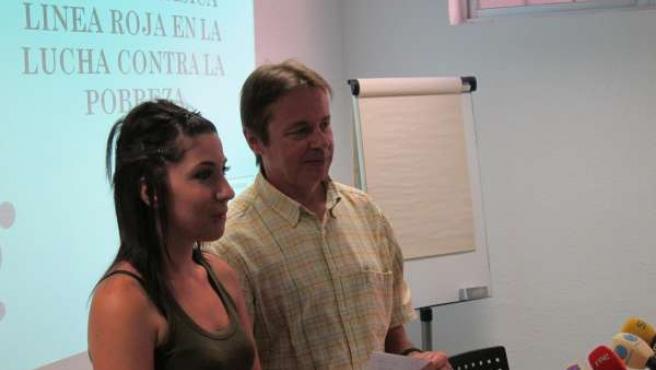 Salmerón y Martínez, en la rueda de prensa
