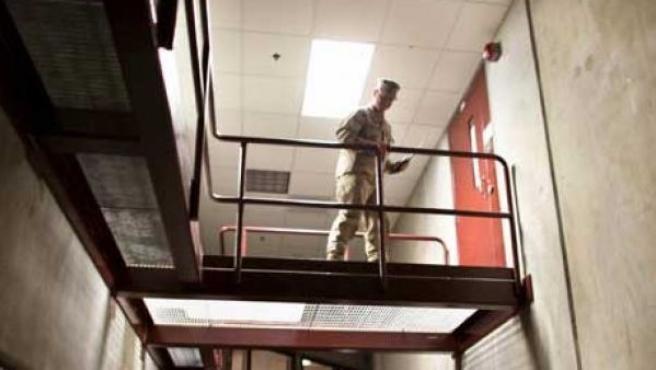 La prisión estadounidense de Guantánamo.