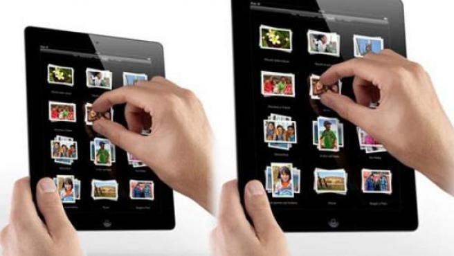 Una imagen de cómo podría ser el iPad mini.