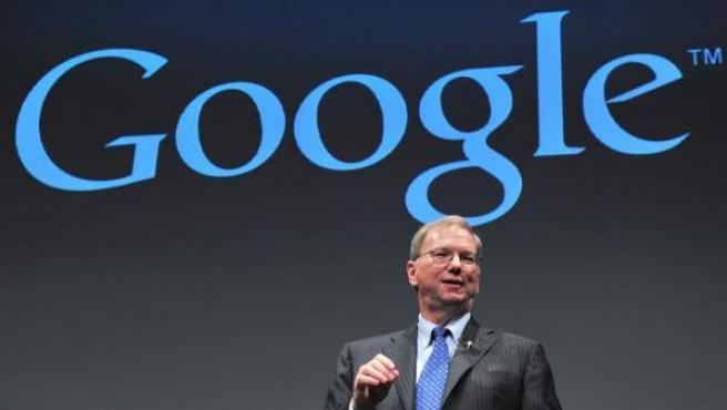 Eric Shcmidt, presidente de Google.