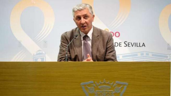 El delegado de Urbanismo del Ayuntamiento de Sevilla, Maximiliano Vílchez
