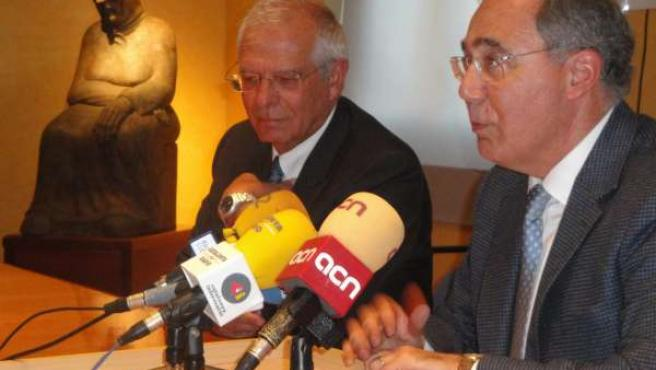 El ex presidente del Parlamento Europeo, Josep Borrell