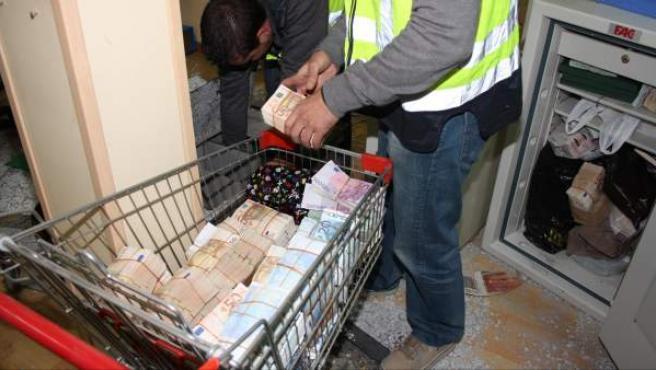 La mafia china blanqueba millones de euros.