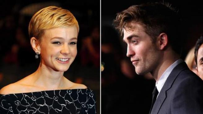 Los actores Carey Mulligan (izda.) y Robert Pattinson.