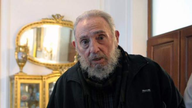 El expresidente cubano Fidel Castro en una imagen de archivo reciente.