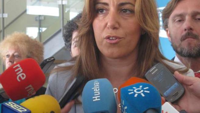 La consejera de Presidencia de la Junta, Susana Díaz.