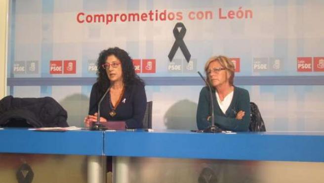 Teresa Gutiérrez y Concepción Ramos