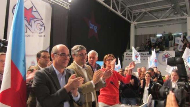 Mitin del BNG en Vigo