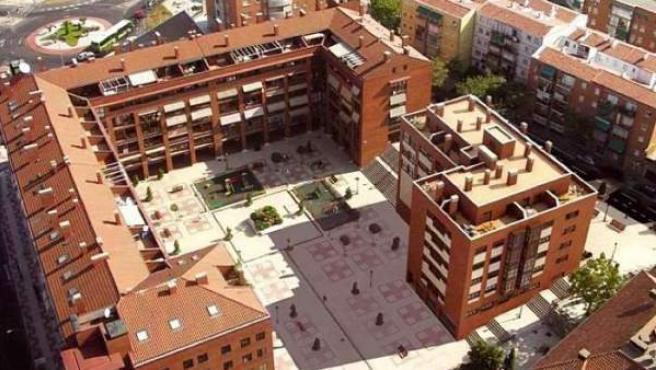 Viviendas que el BBVA vende en Alcorcón.