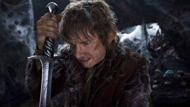 Bilbo Bolsón (Martin Freeman) en la película de 'El Hobbit'.