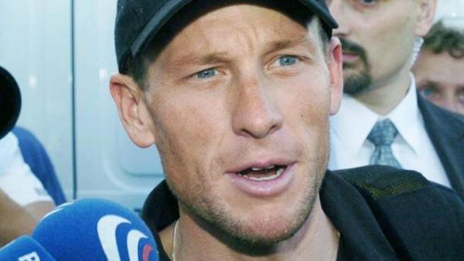 El exciclista estadounidense, Lance Armstrong, en una imagen de archivo.