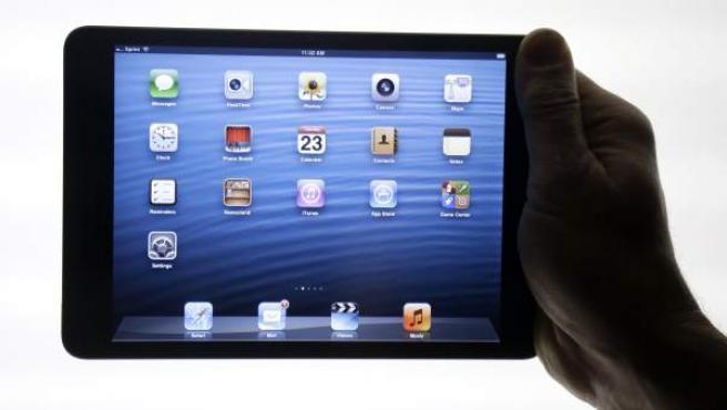 La tableta iPad mini.