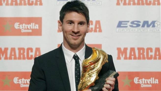 El delantero argentino del FC Barcelona Lionel Messi.