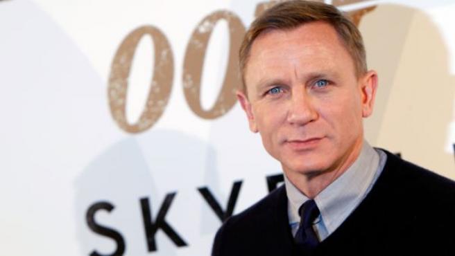 Daniel Craig, en la presentación de 'Skyfall' en Madrid.