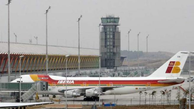 Aeropuerto de Barajas.