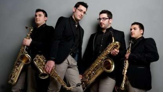 El cuarteto de saxofones 'Art Sound'