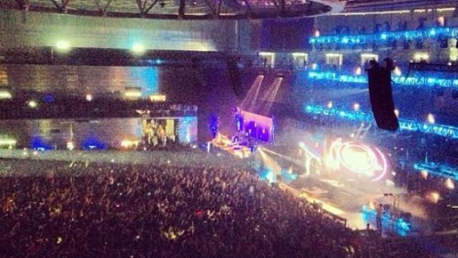 Fiesta de Halloween 'Thriller Music Park' en el recinto Madrid Arena.
