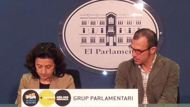 Fina Santiago y Biel Barceló