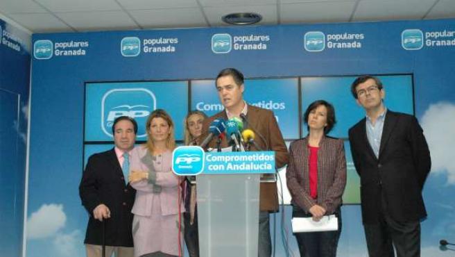 El portavoz del PP en el Parlamento andaluz, Carlos Rojas