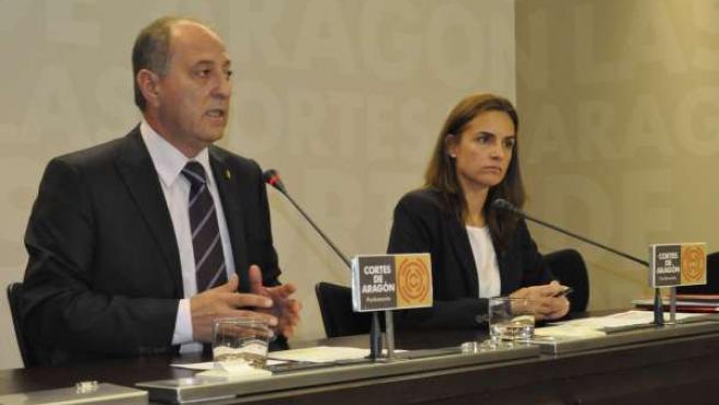 José Ramón Ibáñez y Susana Sumelzo