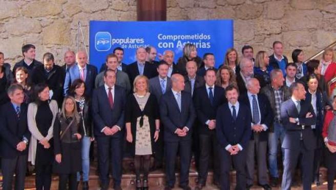 Directivos Del PP De Asturias