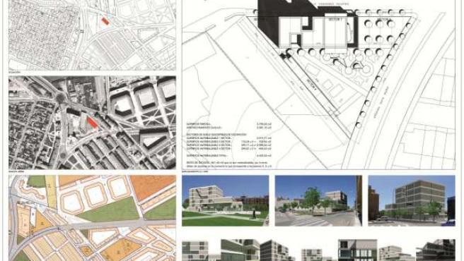Mapas y recreación de la residencia
