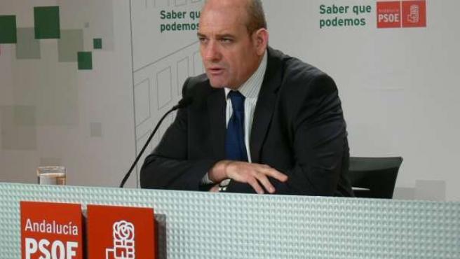 El viceportavoz primero del grupo socialista en Diputación, Gerardo Sánchez