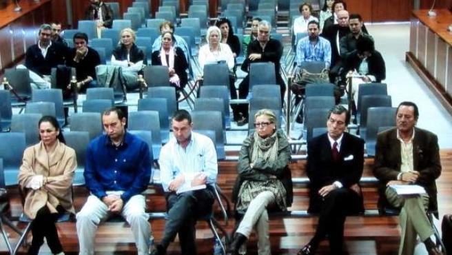 Pantoja, Muñoz, Zaldívar y otros acusados de blanqueo
