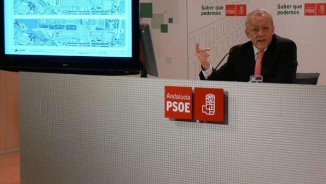 El Diputado Socialista En El Congreso Manuel Pezzi