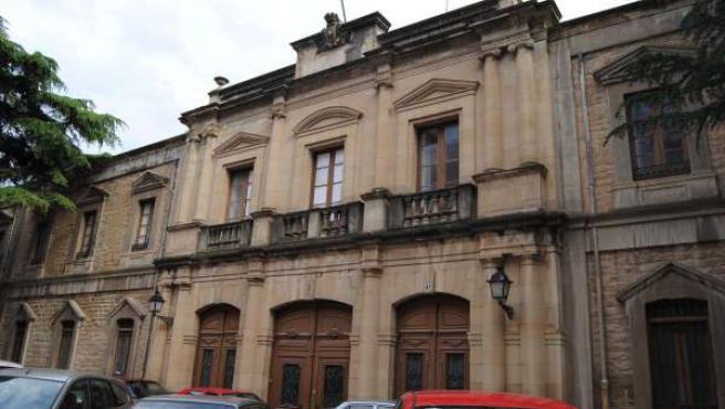Foto del antiguo Hospital Militar donde se emplazará el Palacio de Justicia