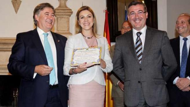 La Presidenta Del Gobierno De Castilla-La Mancha