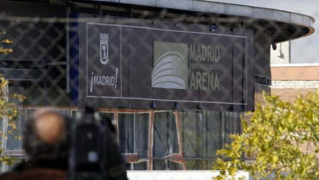Exteriores del Madrid Arena.