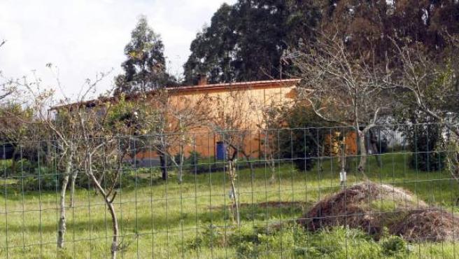 La vivienda de A Revolta, en la parroquia de Sedes, municipio de Narón (A Coruña).