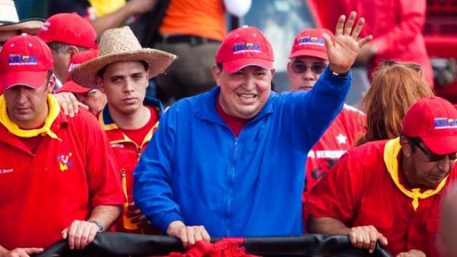 Hugo Chavez, en una foto de octubre de 2012.