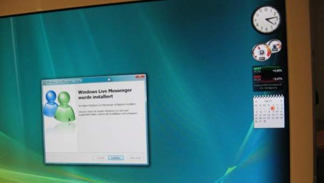 Ventana de instalación de Windows Live Messenger.