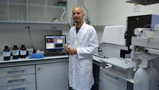 El investigador de la Escuela de Agrónomos de la UPCT Raúl Zornoza