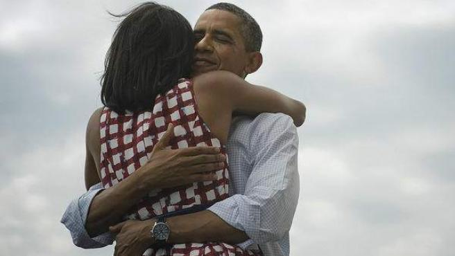 Foto proporcionada por la cuenta de Twitter de Obama.