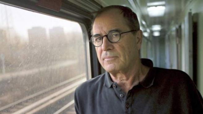 Un retrato del escritor Paul Theroux.