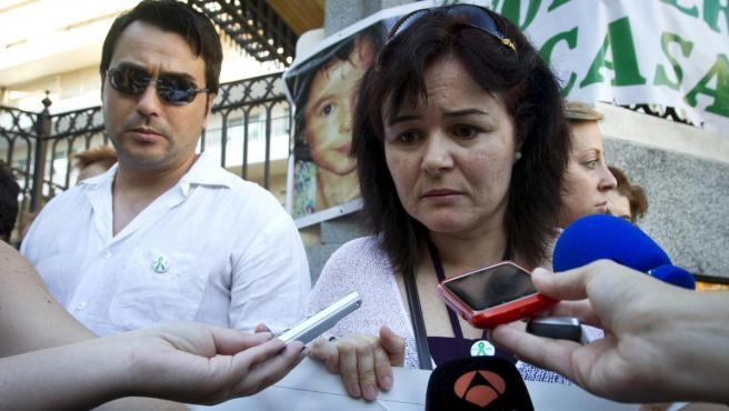 Ruth Ortiz, la madre de los menores desaparecidos en Córdoba.