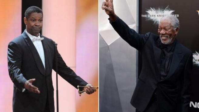 Denzel Washington y Morgan Freeman... ¿for president?