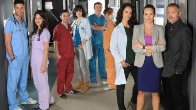 Los principales protagonistas de la serie 'Hospital central' en su temporada 20.