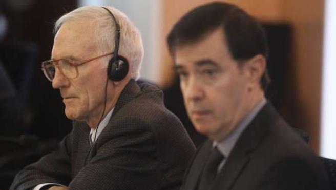 Robert Flanagan y Rafael Pardo