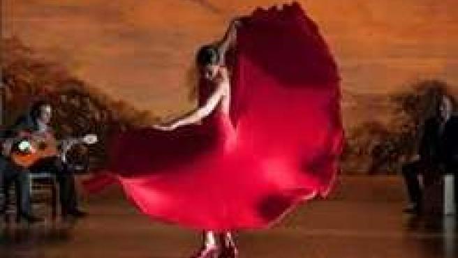 Imagen de la película Flamenco de Carlos Saura.