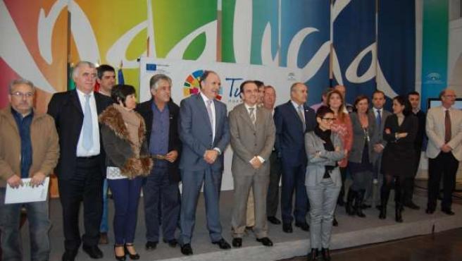 Rafael Rodríguez en la presentación de la Conferencia Estratégica del Turismo