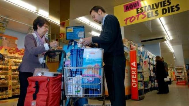 Caprabo Donación Banc Dels Aliments