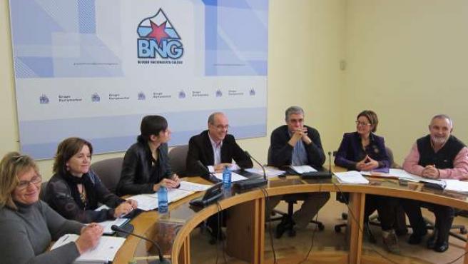 Reunión del Grupo Parlamentario del BNG
