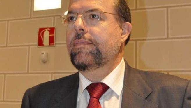 El portavoz provincial de CHA-Zaragoza, Bizén Fuster.