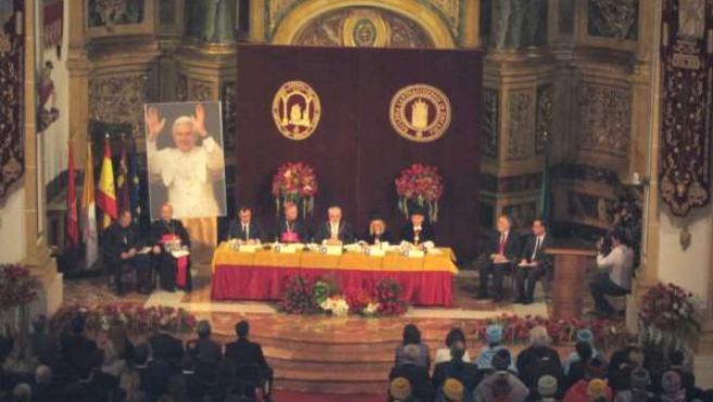 UCAM ha inaugurado el Acto Oficial de Apertura del Curso Académico 2012-2013