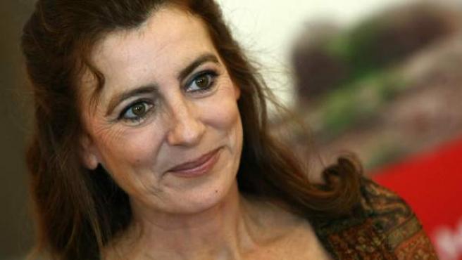 La escritora Ángeles Caso.
